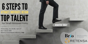 Webinar: 6 steps to attract retain motivate top talent