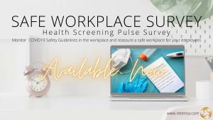 Safe at Work: Self Screening Health Pulse