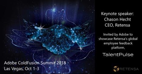 Retensa CEO, Keynote speaker at Adobe ColdFusion Summit 2018