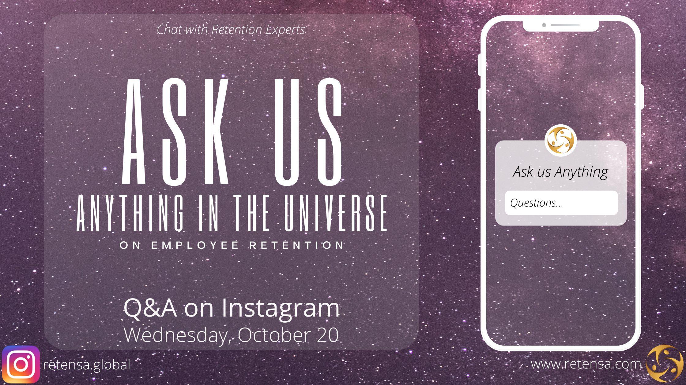 Retention Strategies Q&A on Instagram | Retensa.Global